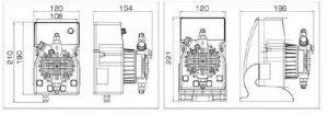 Насос DLX-MA/AD 5-7 230V PVDF_2