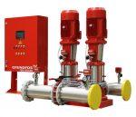 Напорная установка для систем водного пожаротушения Grundfos Hydro M×-A 1/1 CR 10-1